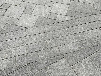 kostka granitowa cięta
