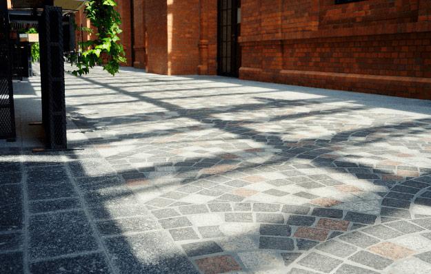 płyty granitowe, kostka granitowa, krawężniki granitowe - projekty i realizacje (1)
